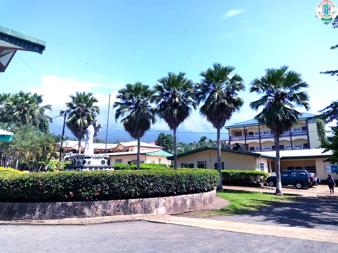 Partial view of our campus