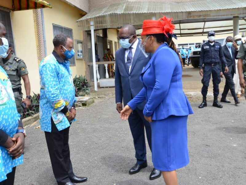 South West governor greets BUIB Administrators